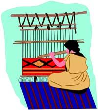 Weaving Clipart.