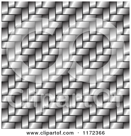 Clipart of a White Weave Texture Background.