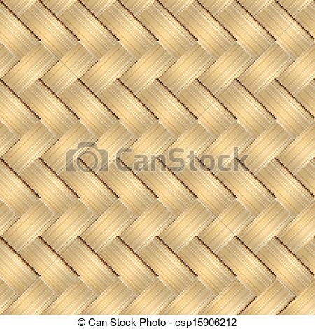 Vector Clip Art of basket weave pattern.
