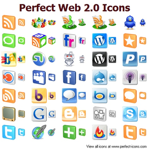 Perfect Web 2.0 Icons.