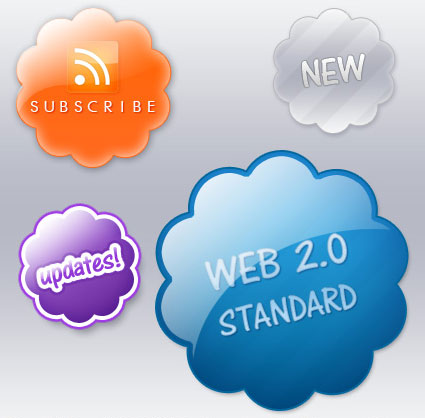 Web 2.0 Badges Collection.