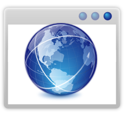 Apps internet web browser Icon.