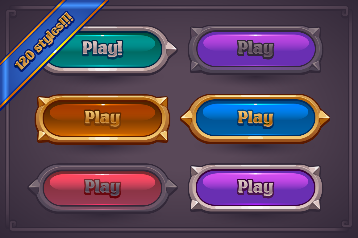 Fantasy Game Button Maker, available now! in 2019.