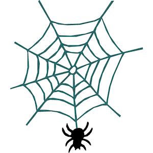 Spider web free vector design spiders clip art.