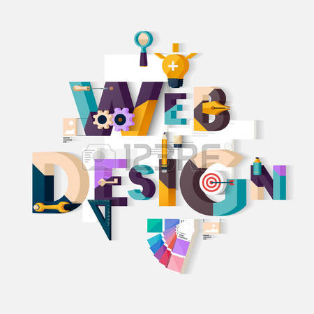 2,466,530 Web Design Stock Vector Illustration And Royalty Free.