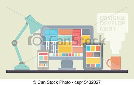Web Design Programming Clip Art.