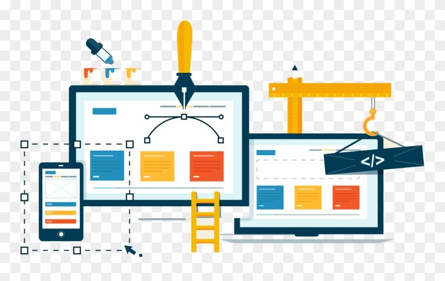 Web Development Clipart Free Website.