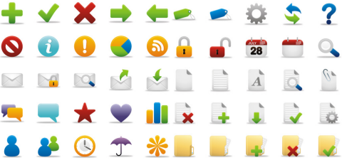 Coquette 50 Free Icons in 5 Sizes and PNG Format.