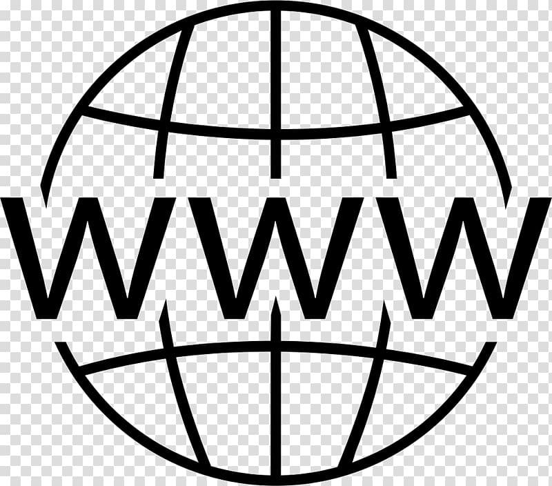 WWW logo, Logo Web page, world wide web transparent.