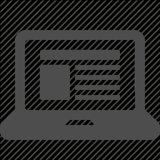 Web Design Icon clipart.