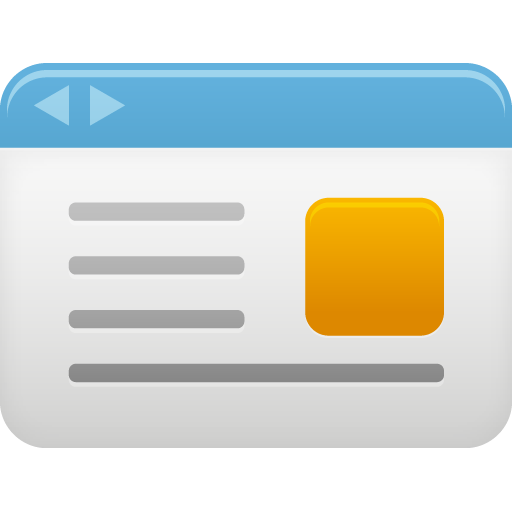 Web Page Icon Png #139921.