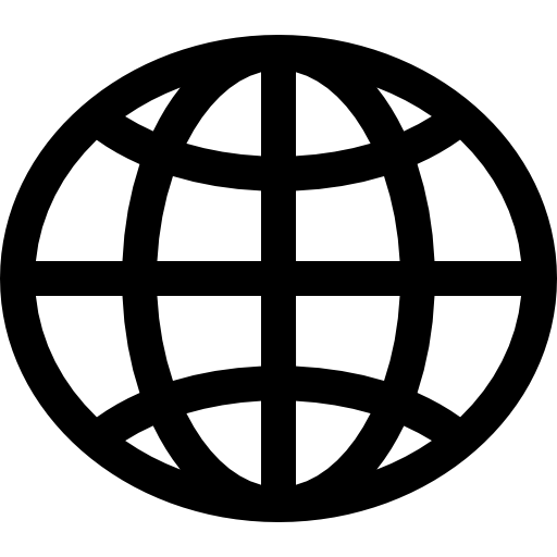World wide web globe Icons.