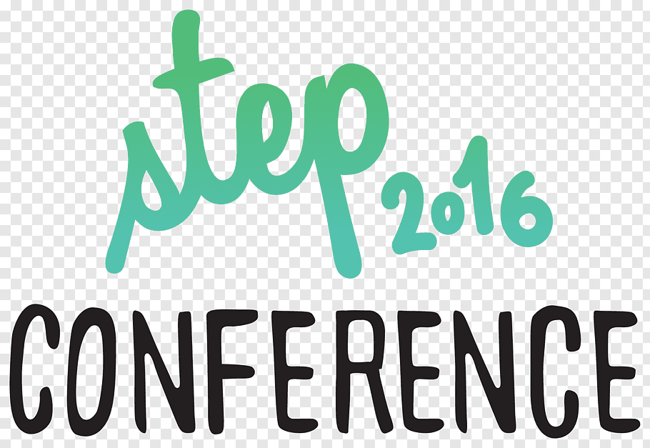 STEP Conference Convention GITEX Logo Web Summit, work steps.