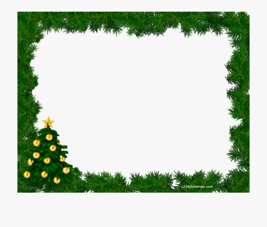 9 Free Png Christmas Borders For On Ya Webdesign.