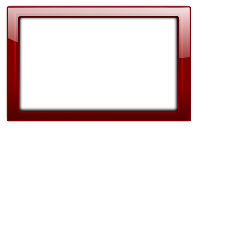 Free Clipart: Red Frame.