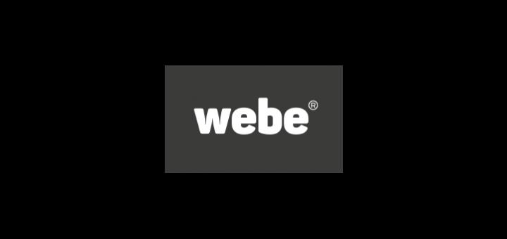 webe logo vector.