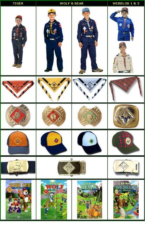 Public Cub Scout Uniform.