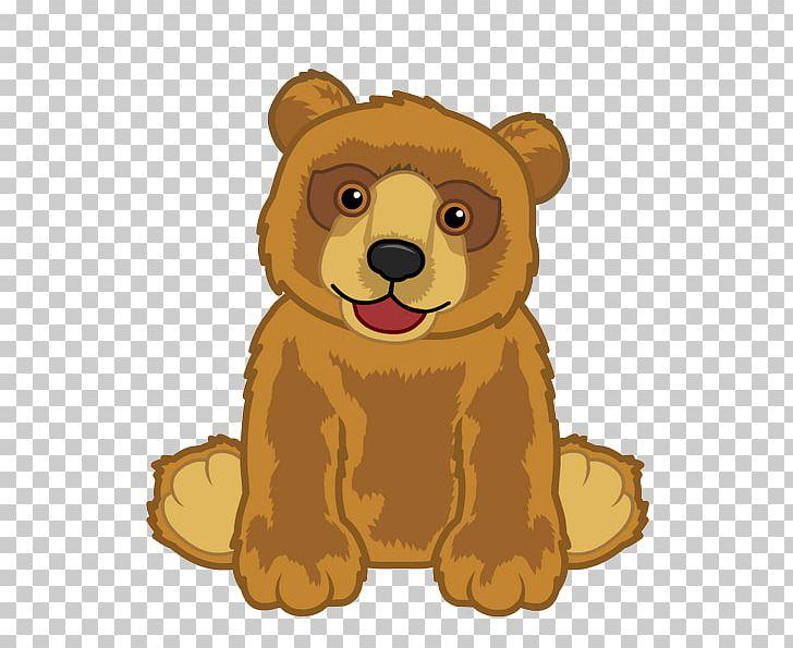 Brown Bear American Black Bear Polar Bear Webkinz PNG.