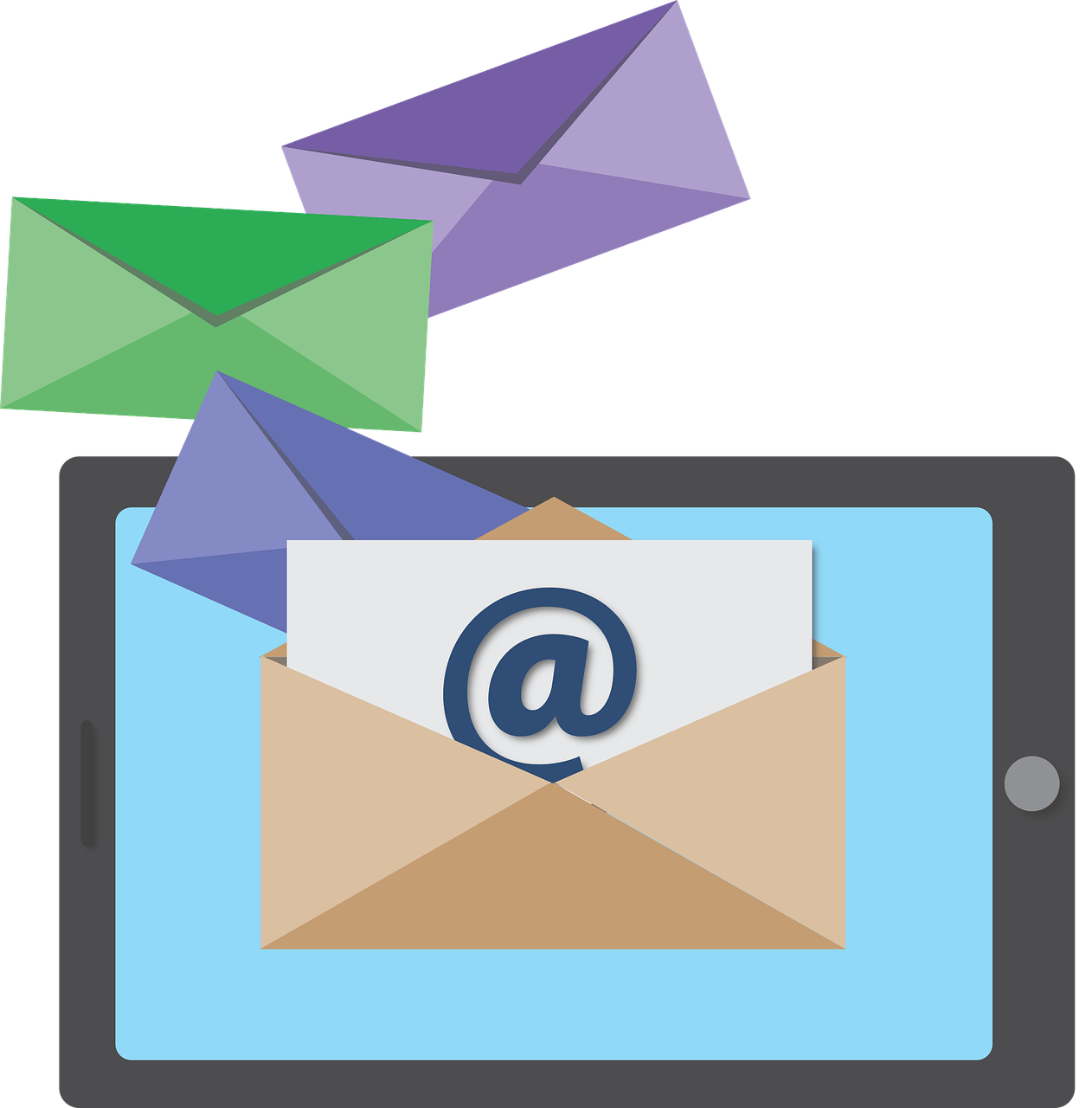 Download Webmail Marketing Client Email Privacy Free Clipart.