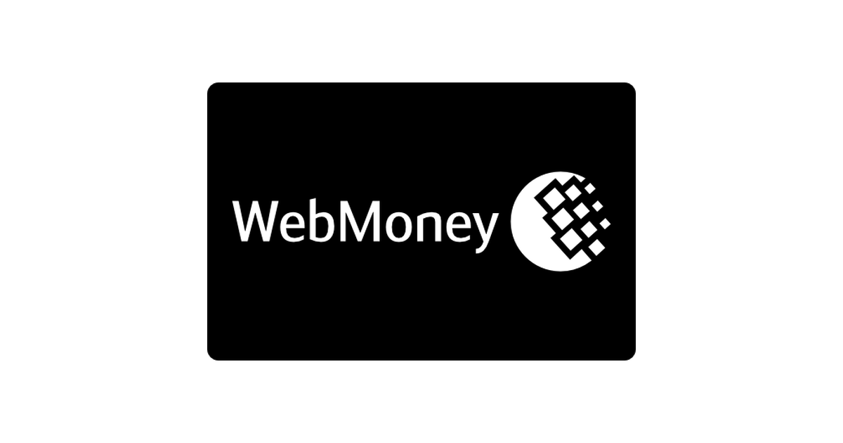 Webmoney pay card.