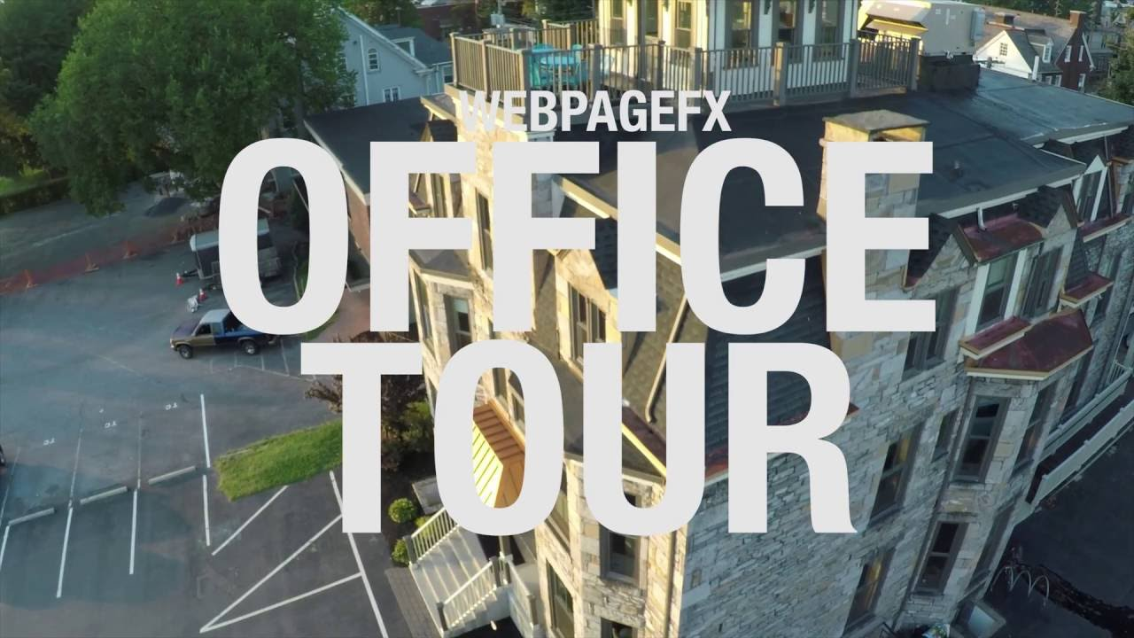 WebpageFX Office Tour.
