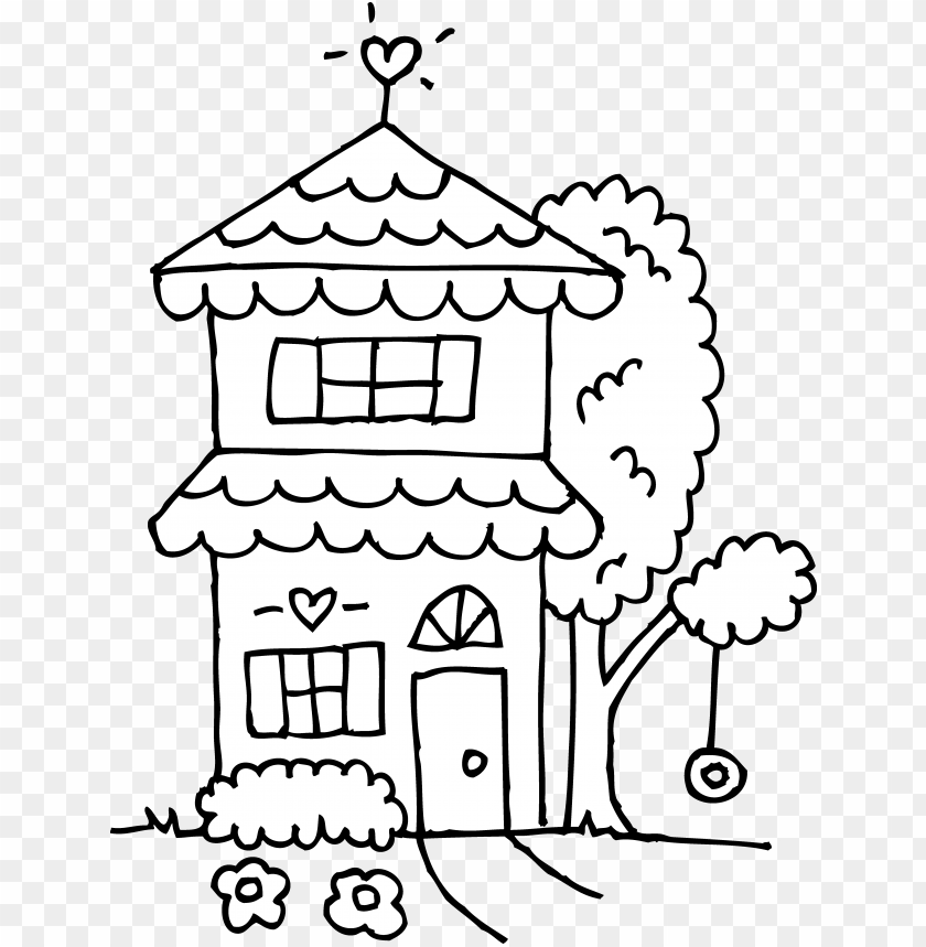 vector and two story house outline clipart 9416 favorite.