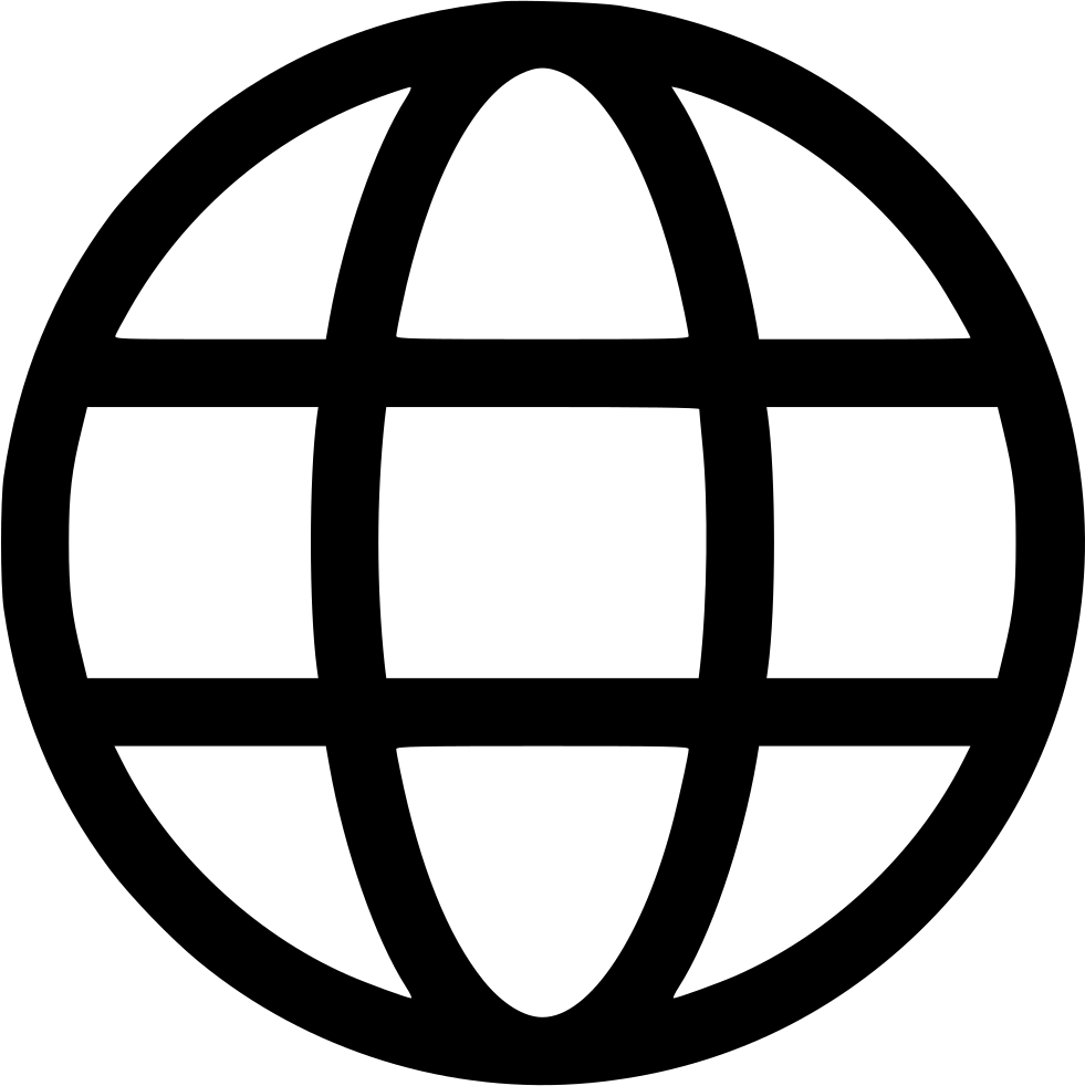Earth World Wide Web Circle Connect Round Svg Png Icon Free.
