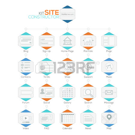 16,555 Site Map Stock Vector Illustration And Royalty Free Site.