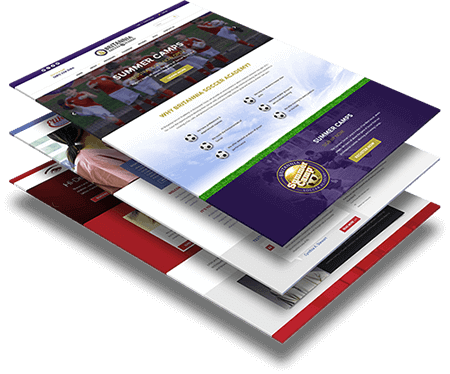 Website Template Design, Web Mockup Designer Nepal.