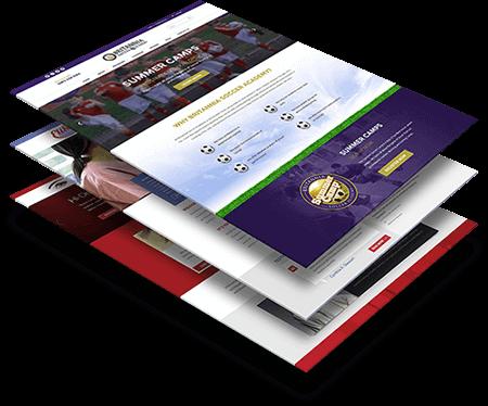 Website Template Design, Web Mockup Designer Nepal.