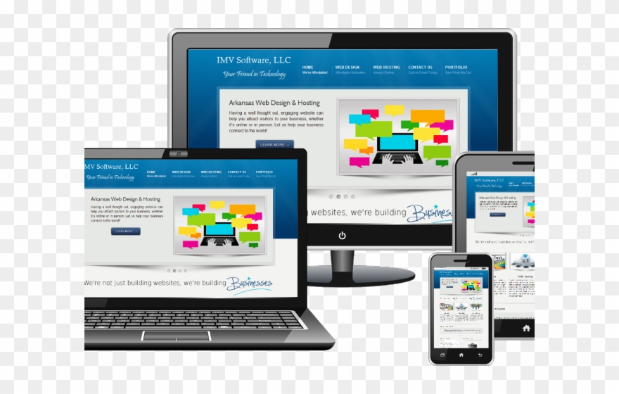 Online Marketing Clipart Website Design.