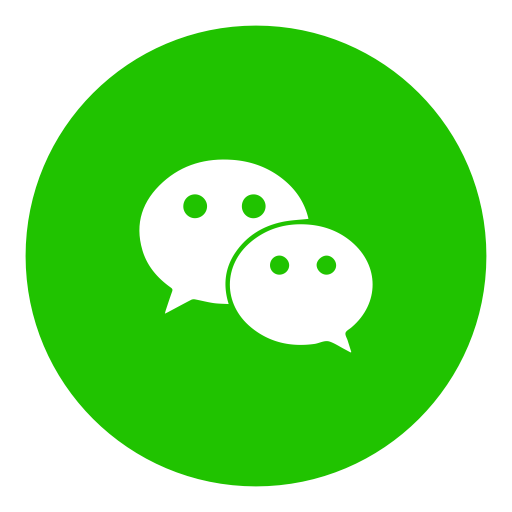 Messenger, social, wechat icon.