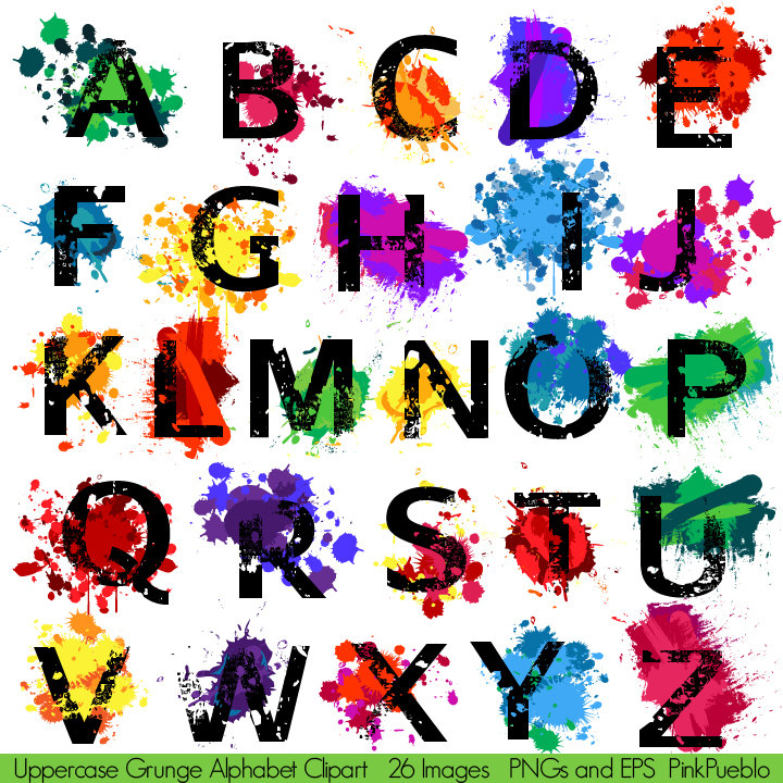 Clipart Alphabet Fonts.