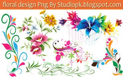 25 Floral Designs Png Download.