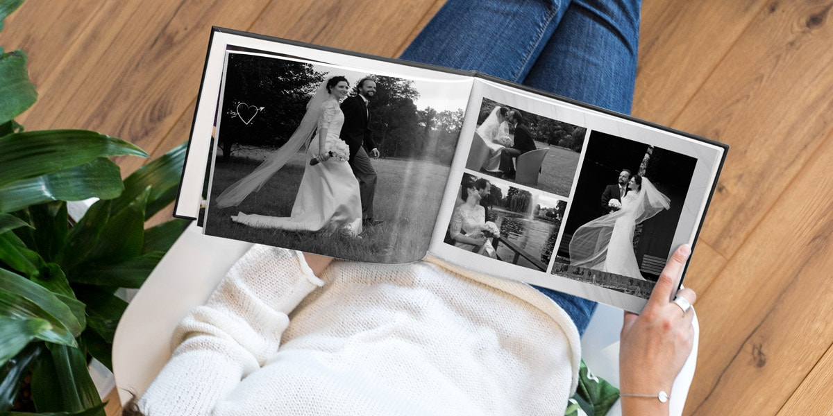 Discover wedding album ideas to remember your big day.