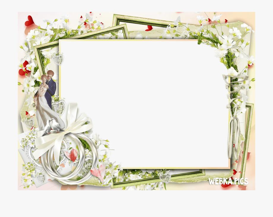 15 Wedding Photo Frames Png For Free On Mbtskoudsalg.