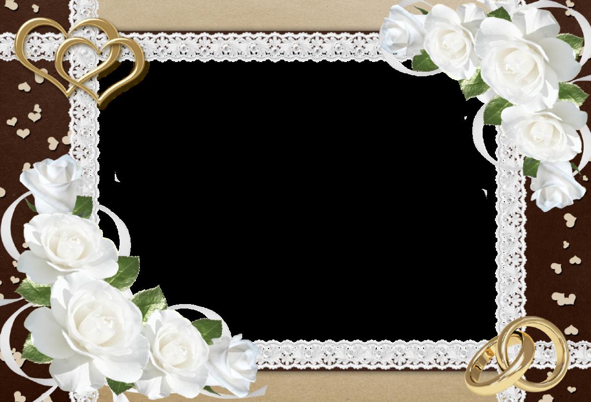 Wedding Frame PNG Transparent Images.