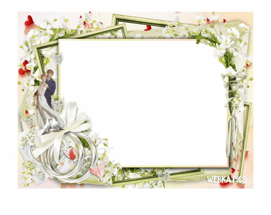 Wedding Anniversary Photo Frames Png.