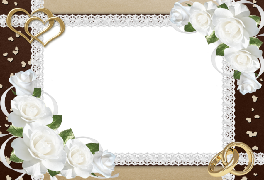 Wedding Background Frame clipart.