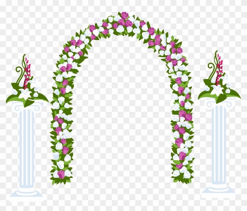 022 Floral Arch And Columns Flower Designs Decoration.