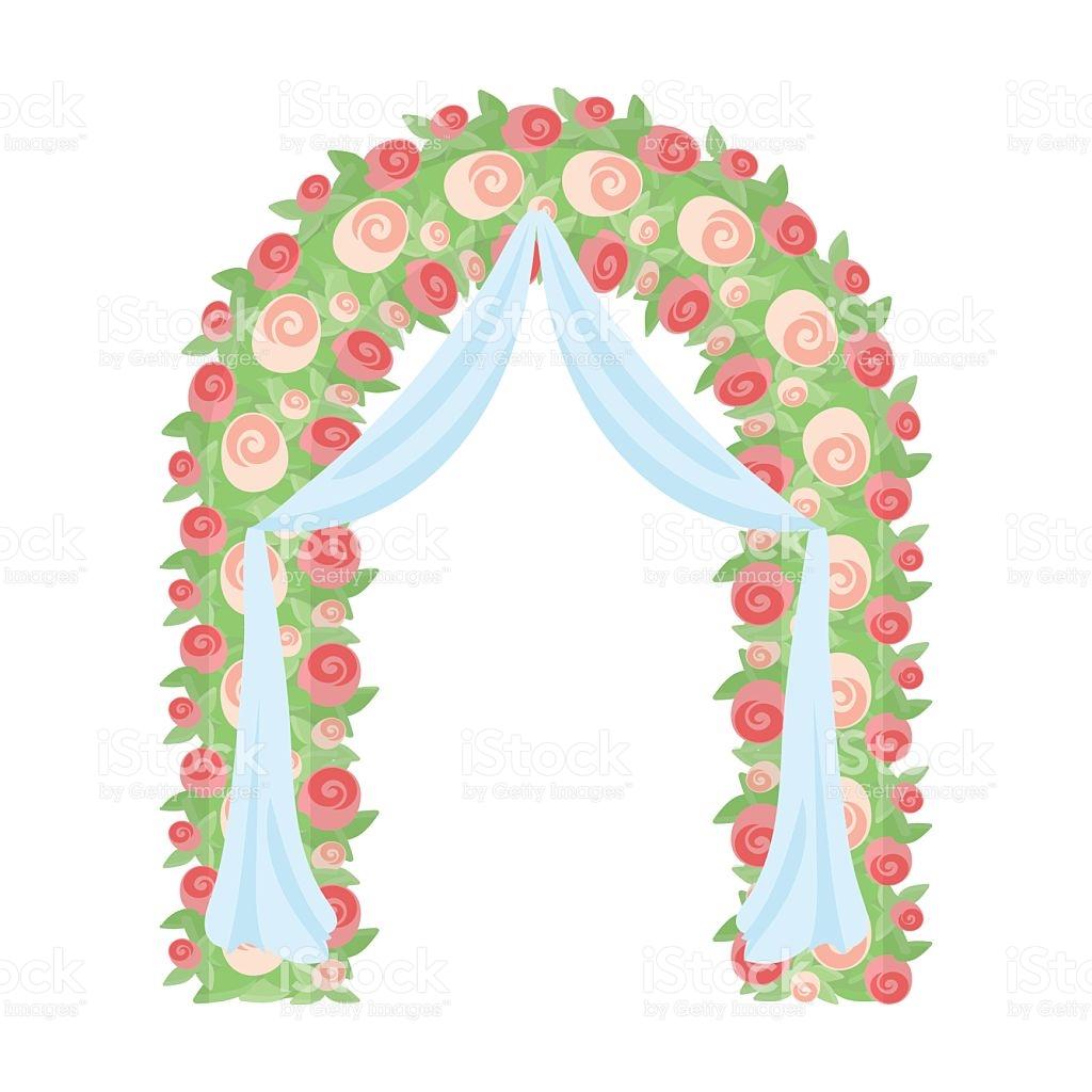 Floral Arch Clipart.