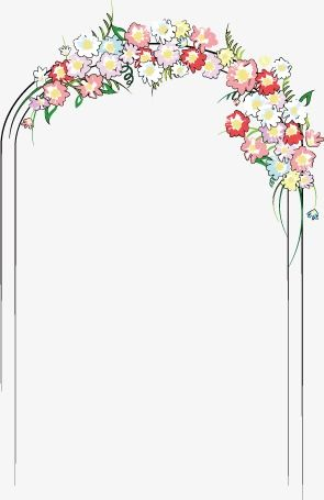 Wedding Arches, Wedding, Marry PNG and Vector with.