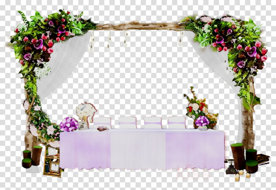 Wedding Background Frame clipart.