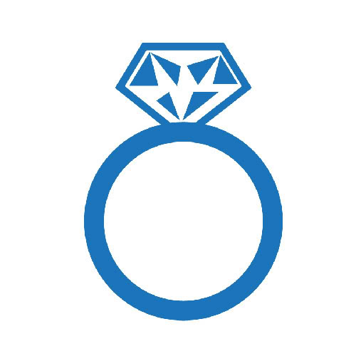 Download High Quality ring clipart blue Transparent PNG.