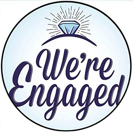 Amazon.com: Short Plush Round Rugs Engagement Party We are.