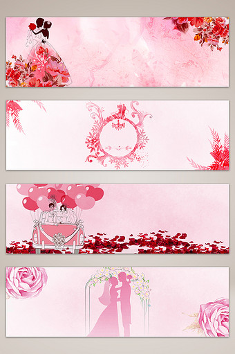 Wedding Banner Templates PSD,Vectors,PNG Images free.