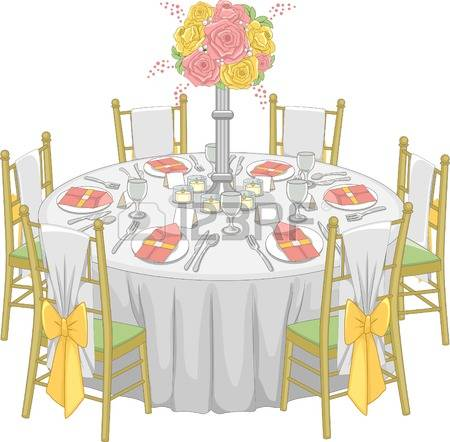 1,114 Wedding Table Stock Illustrations, Cliparts And Royalty Free.