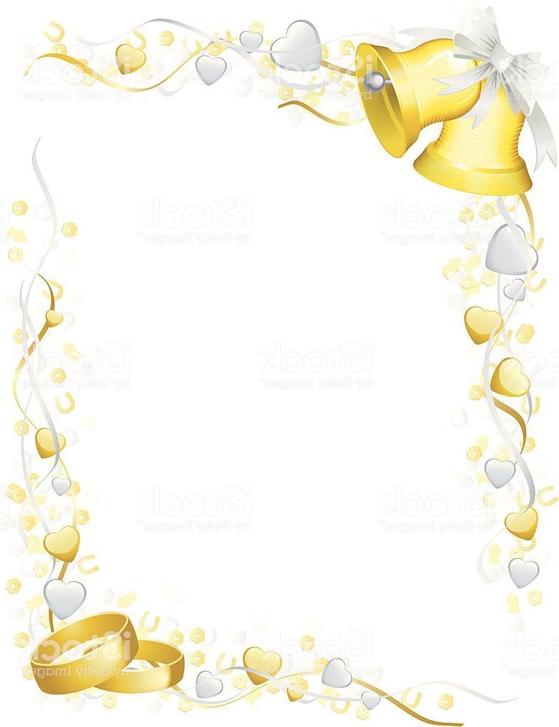 Best Free Wedding Bells Vector Bordor Drawing » Free Vector.
