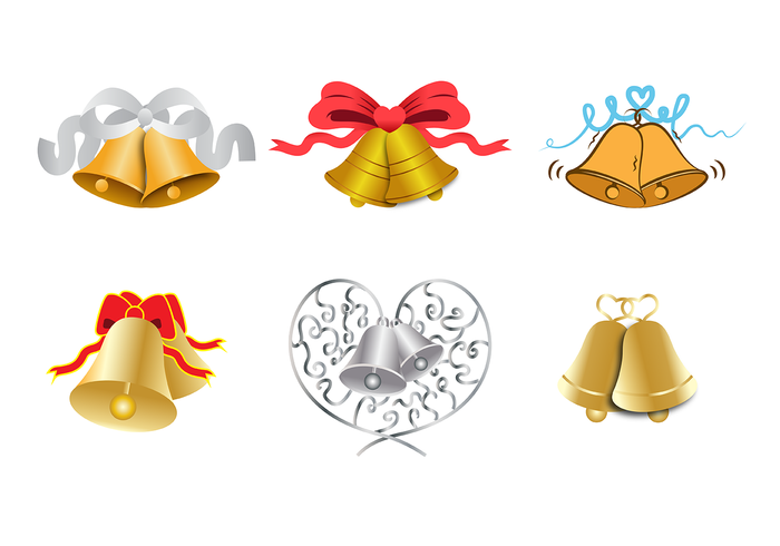 Wedding Bells Vector.