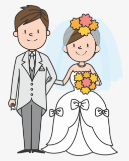 Free Christian Wedding Couple Clip Art with No Background.